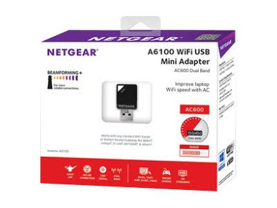How to install Netgear A6100 USB Wifi-adapter on Ubuntu